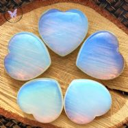 Opalite Glass Heart